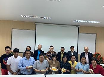 เนื่องในวันครูประจำปี 2563 บรรยากาศไหว้ครูโดยนักศึกษาปริญญาเอกรุ่น 18